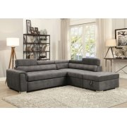 THELMA SEC.SOFA W/PULL-OUT BED Product Image