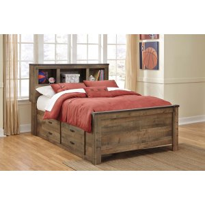 Ashley Furniture Trinell - Brown 4 Piece Bed Set (Full)