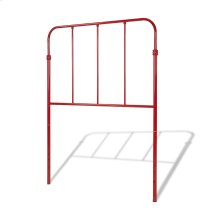 Nolan Metal Kids Headboard, Candy Red Finish, Twin