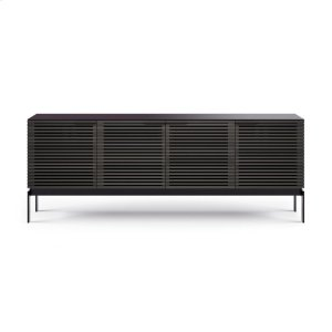 Bdi FurnitureSv 7129 Quad Media Console Credenza in Charcoal Stained Ash