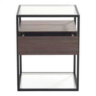 Claro Accent Table Walnut