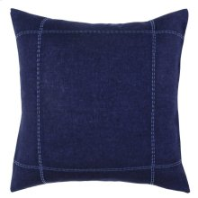 Heirloom Duvet Indigo Euro Sham 26x26