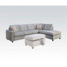 Belville Gray Sectional Sofa