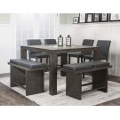 Cougar 7pc Charcoal Pub Set Product Image