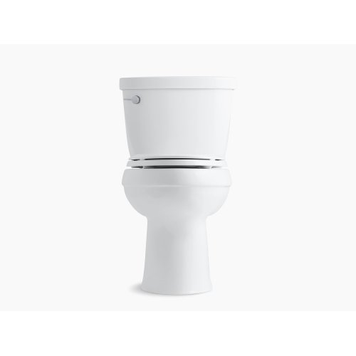 Black Black Comfort Height Two-piece Elongated 1.6 Gpf Toilet With Aquapiston Flush Technology and Left-hand Trip Lever, Seat Not Included