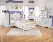 Zarollina - Silver 2 Piece Bed Set (Twin)