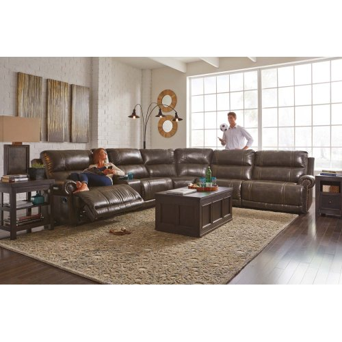 Dak - Antique 4 Piece Sectional