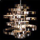 Hemispheres 8 Light Chandelier Silver Product Image