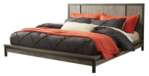 Cazentine - Grayish Brown 2 Piece Bed Set (Cal King)