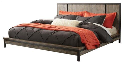 Cazentine - Grayish Brown 2 Piece Bed Set (Cal King)