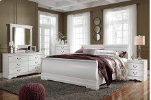 Anarasia - White 3 Piece Bed Set (King)