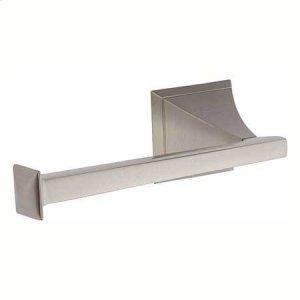 Satin Nickel Open Toilet Tissue Holder