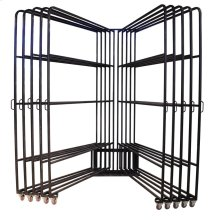 Ten Arm 5x8 Panel Rack w/80 Clips