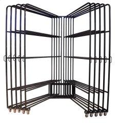 Ten Arm 5x8 Panel Rack w/80 Clips Product Image