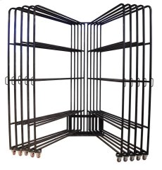 Ten Arm 5x8 Panel Rack w/80 Clips Product Image
