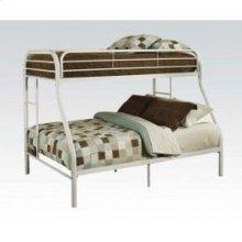 Tritan White T/f Bunk Bed