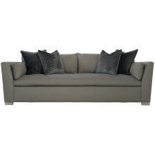 "Serenity Sofa Bench Set (96"") in Cerused Greige (796)"