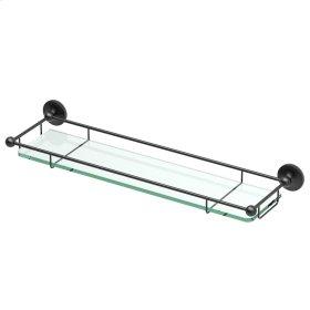 Premier Railing Shelf #2 in Matte Black