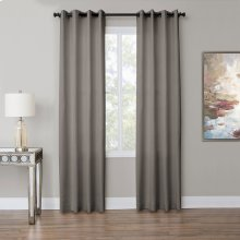 Aria 50x84 Grommet Top Panel Weighted Corners Fog