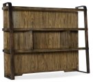 Home Office Crafted Computer Credenza Hutch Product Image