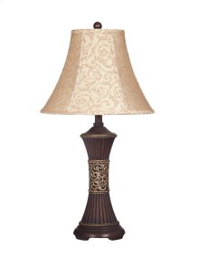 Mariana - Bronze Finish Poly Table Lamp