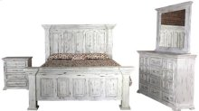 Yuma Rustic Chest - White