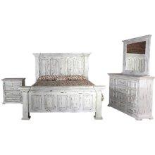 Yuma Rustic Dresser - White