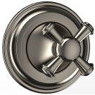 Vivian Two-Way Diverter Trim - Cross Handle - Brushed Nickel Product Image