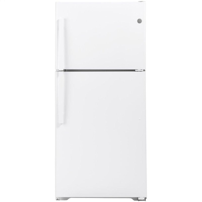 GE(R) 19.2 Cu. Ft. Top-Freezer Refrigerator