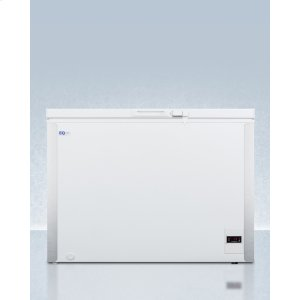 SummitCommercially Listed 8 CU.FT. Frost-free Chest Freezer In White With Digital Thermostat for General Purpose Storage; Replaces Scff70