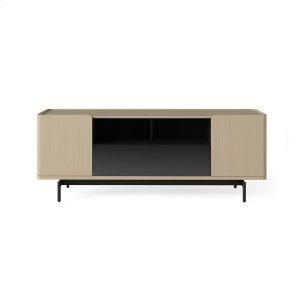 Bdi FurnitureMedia Console 8839 in Drift Oak