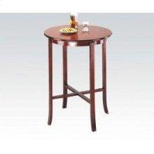 """Oak Bar Table, 30""""d X 40""""h @n"""