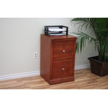 """A-T178 Traditional 2-Drawer Letter File Cabinet, 17 7/8""""W x 17""""D x 30""""H"""