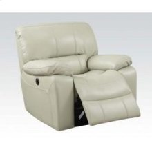 Cream Power Recliner