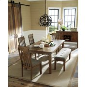 RECT DRM Butterfly EXT Table with 6 Side Chairs Product Image