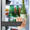 GE Profile Ge Profile™ Series 22.1 Cu. Ft. Counter-Depth French-Door Refrigerator With Door In Door And Hands-Free Autofill