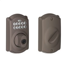 Camelot Trim Keypad Deadbolt - Oil-Rubbed Bronze