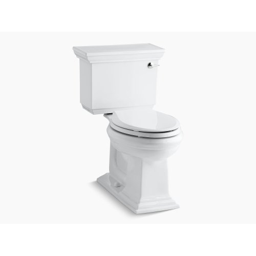 Biscuit Comfort Height Two-piece Elongated 1.28 Gpf Toilet With Aquapiston Flushing Technology and Right-hand Trip Lever, Seat Not Included