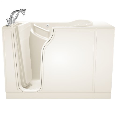 Gelcoat Value Series 30x52-inch Walk-in Tub with Whirlpool System  American Standard - Linen