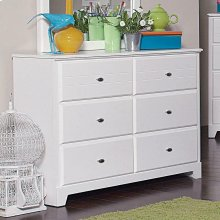 Ashton Transitional White Dresser