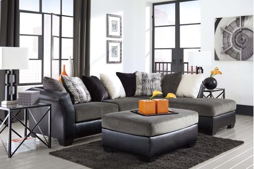 Armant - Ebony 2 Piece Sectional