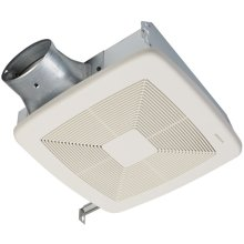 LoProfile DC Series Bathroom Exhaust Fan with selectable 50, 80 or 100 CFM