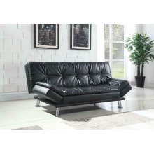 Dilleston Contemporary Black Sofa Bed