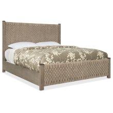 Bedroom Miramar Carmel Lucio Queen Woven Panel Bed
