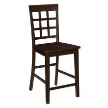 Counter Chair (2/Ctn) - Espresso Finish