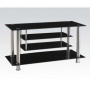 TV Stand W/bk Gl (1pc/1ctn) Product Image