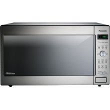2.2 Cu. Ft. Built-In/Countertop Microwave Oven with Inverter Technology - Stainless Steel - NN-SD972S