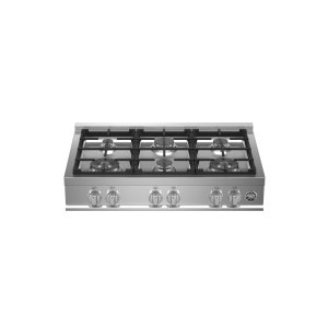 Bertazzoni36 Gas Rangetop 6 burners Stainless Steel