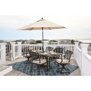 Burnella - Beige/Brown 3 Piece Patio Set Product Image