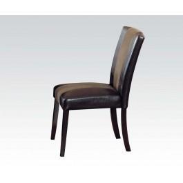 Pu/ultra Plush Side Chair Hidden